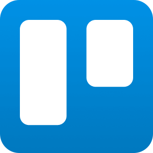 Trello productivity software app logo