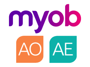 MYOB AE & AO Accounting Software Logo
